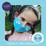 Mascherina_Magia arcobaleno